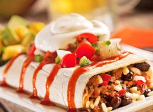 Tumbleweed Bean Burrito